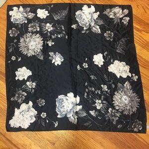 Echo Oversized Vintage Silk Scarf